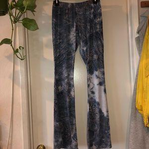 vintage havana tie dye bell bottom super soft pant